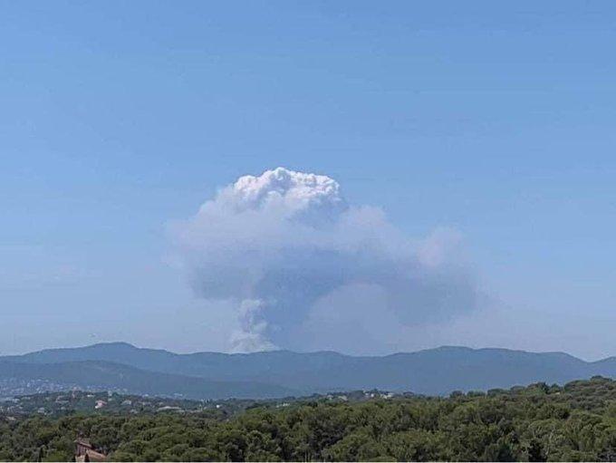 Incendie de Gonfaron le 18 août 2021